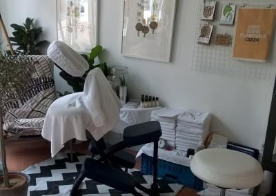 Massage op locatie stoelmassage