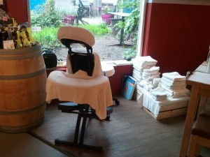 Massage Delft stoelmassage